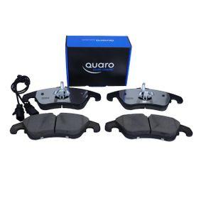 Bremsbelagsatz, Scheibenbremse QUARO Art.No - QP3526C OEM: 4G0698151D für VW, AUDI, SKODA, SEAT, PORSCHE kaufen