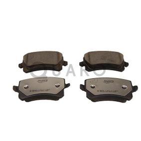 Bremsbelagsatz, Scheibenbremse QUARO Art.No - QP4222C OEM: 5N0698451 für VW, AUDI, SKODA, SEAT, PORSCHE kaufen