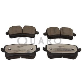 Kit de plaquettes de frein, frein à disque QUARO Art.No - QP5296C OEM: 4G0698451A pour VOLKSWAGEN, AUDI, SEAT, SKODA, PORSCHE récuperer