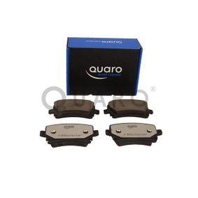 QUARO Bremsbelagsatz, Scheibenbremse 4F0698451D für VW, AUDI, SKODA, SEAT, HONDA bestellen