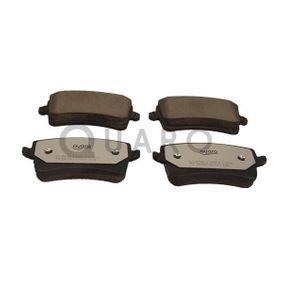 Bremsbelagsatz, Scheibenbremse QUARO Art.No - QP6566C OEM: 8K0098601F für VW, AUDI, SATURN kaufen