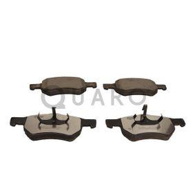 Bremsbelagsatz, Scheibenbremse QUARO Art.No - QP6600C OEM: 5015365AA für ALFA ROMEO, JEEP, CHRYSLER, DODGE kaufen