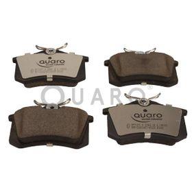 Bremsbelagsatz, Scheibenbremse QUARO Art.No - QP7107C OEM: 8E0698451B für VW, AUDI, FORD, SKODA, SEAT kaufen