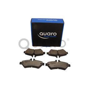 QUARO Bremsbelagsatz, Scheibenbremse A0044206920 für VW, MERCEDES-BENZ bestellen