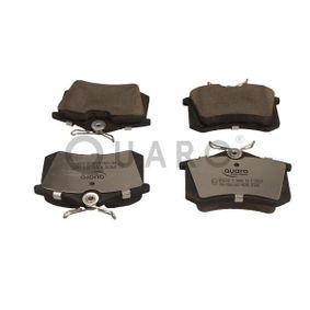 Bremsbelagsatz, Scheibenbremse QUARO Art.No - QP8078C OEM: 440603511R für RENAULT, DACIA, DS, SANTANA, RENAULT TRUCKS kaufen