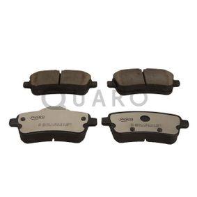 Bremsbelagsatz, Scheibenbremse QUARO Art.No - QP8154C OEM: A0064203420 für MERCEDES-BENZ kaufen