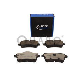 QUARO Bremsbelagsatz, Scheibenbremse 0064203420 für MERCEDES-BENZ bestellen