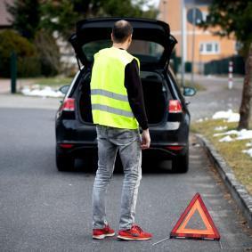 549100 Hoog zichtbaarheidsvest voor voertuigen