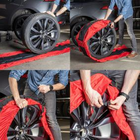 HEYNER Комплект калъфи за гуми 735000 изгодно