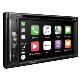 Multimedia-vastaanotin autoihin PIONEER-merkiltä: tilaa netistä
