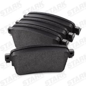 STARK Brake Pad Set, disc brake (SKBP-0011922) at low price