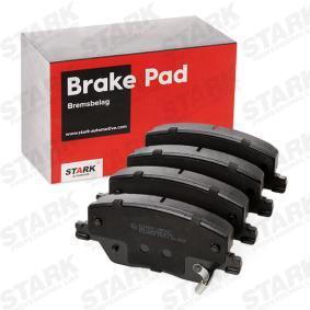 77367628 für FIAT, Bremsbelagsatz, Scheibenbremse STARK (SKBP-0011923) Online-Shop