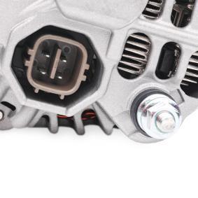 Генератор (4G0348) производител RIDEX за HONDA Jazz II Хечбек (GD_, GE3, GE2) година на производство на автомобила 03.2002, 78 K.C. Онлайн магазин