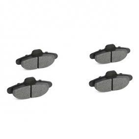 RIDEX Brake rotors and pads kit (3405B0348)