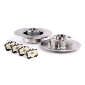 RIDEX Bremsscheiben und Bremsbeläge 3405B0357