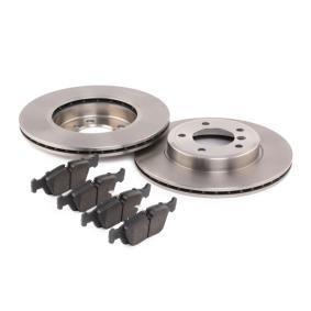 RIDEX Bremsscheiben und Bremsbeläge 3405B0366