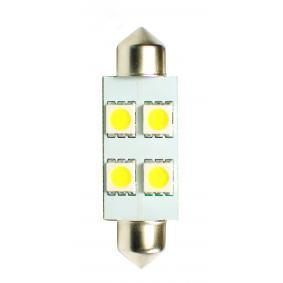 Крушка с нагреваема жичка, светлини на рег. номер (LB072W) от M-TECH купете