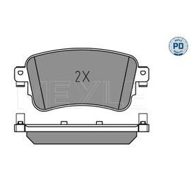 MEYLE Brake Pad Set, disc brake SU001A6136 for TOYOTA, LEXUS acquire