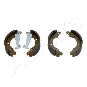 Bremsbackensatz ASHIKA Art.No - 55-00-0906 OEM: 1H0698525X für VW, AUDI, SKODA, SEAT kaufen