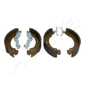 Bremsbackensatz ASHIKA Art.No - 55-00-0909 OEM: 701698525B für VW, AUDI, SKODA, SEAT, PORSCHE kaufen