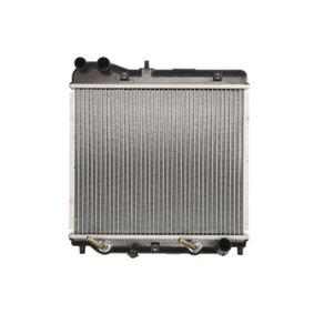 THERMOTEC Воден радиатор / единични части D74016TT