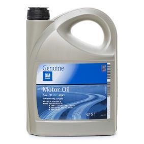 19 42 003 Olio auto dal OPEL GM di qualità originale