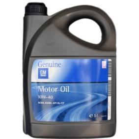 HONDA Stream I (RN) 2.0 16V (RN3) 156 2001, Auto Öl OPEL GM Art. Nr.: 19 42 046 online