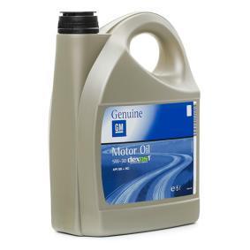 Aceite de motor OPEL GM 95599877 comprar