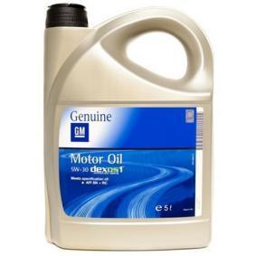 OPEL-GM Autó olaj, Art. Nr.: 95599877 online