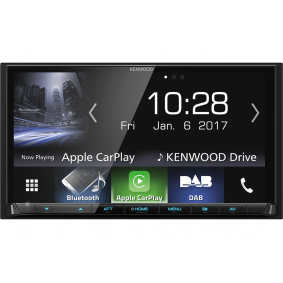 KENWOOD Multimediamottagare DMX-7017DABS