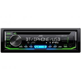 Stereos voor auto van JVC: voordelig geprijsd