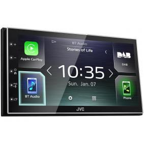 Δέκτης πολυμέσων για αυτοκίνητα της JVC: παραγγείλτε ηλεκτρονικά