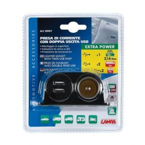 Кабел за зареждане, запалка за кола за автомобили от LAMPA - ниска цена