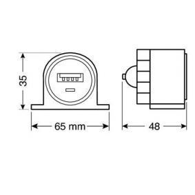 LAMPA Caricabatterie da auto per cellulare 38968 in offerta