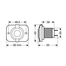 KFZ KFZ-Ladekabel für Handys 39006