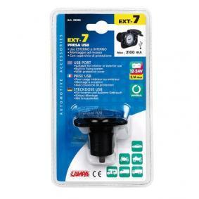 Mobiloplader til bilen til biler fra LAMPA - billige priser