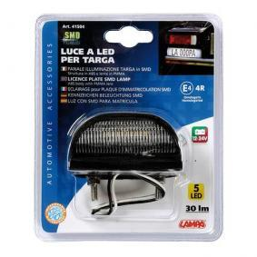MICRA II (K11) LAMPA Φωτισμός πινακίδας κυκλοφορίας 41504