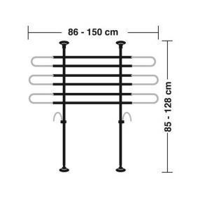 Stark reduziert: LAMPA Absperrgitter, Koffer- / Laderaum 60414