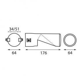 60117 PILOT Deflector tubo de escape online a bajo precio