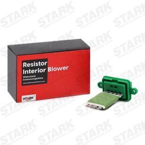 PANDA (169) STARK Resistor interior blower SKRI-2000006
