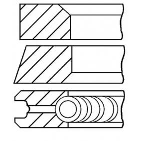 Kolbenringsatz GOETZE ENGINE Art.No - 08-422300-00 OEM: 7701470248 für RENAULT, RENAULT TRUCKS kaufen