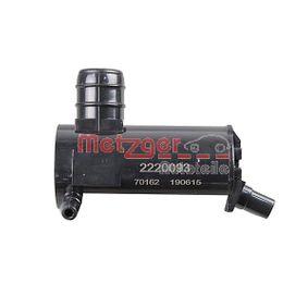 METZGER Windshield washer pump 2220093