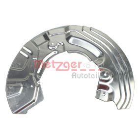 METZGER Spritzblech Bremsscheibe 6115152