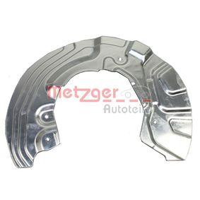 Bremsankerblech 6115152 METZGER