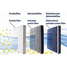 VEMO Filter, Innenraumluft 4B0819439B für VW, AUDI, SKODA, SEAT, HONDA bestellen