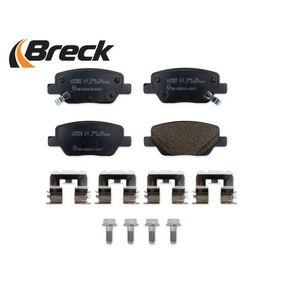 77367717 für FIAT, Bremsbelagsatz, Scheibenbremse BRECK (22449 00 704 00) Online-Shop