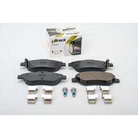 BRECK Bremsbelagsatz, Scheibenbremse 77367923 für FIAT bestellen