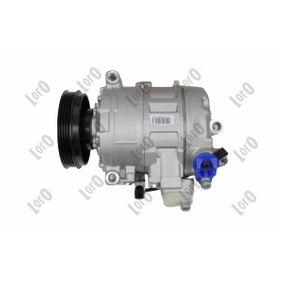 ABAKUS Compresor, aire acondicionado 4B0260805G para VOLKSWAGEN, SEAT, AUDI, VOLVO, SKODA adquirir