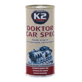 Поръчайте T350SYNT Добавка за маслото на двигателя от K2