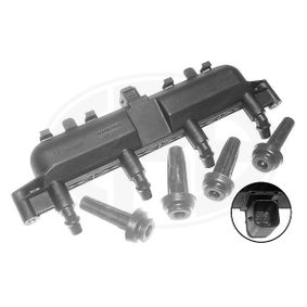 Ignition coil (880034A) producer ERA for PEUGEOT 206 Hatchback (2A/C) year of manufacture 09/1998, 60 HP Online Shop